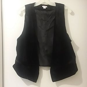XHILARATION black vest Large